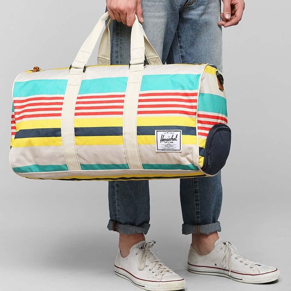 Crosshatch Novel Duffel Bag by Herschel Supply Co. Gadget Flow Editors b78bf3a6a58a6