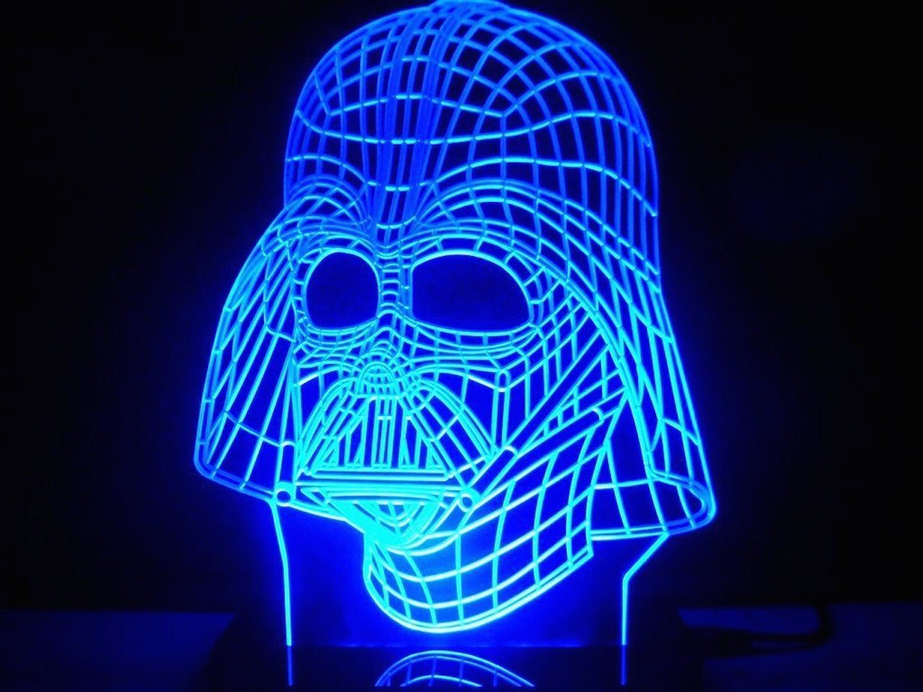 Darth Vader Led Light Table Lamp 187 Gadget Flow