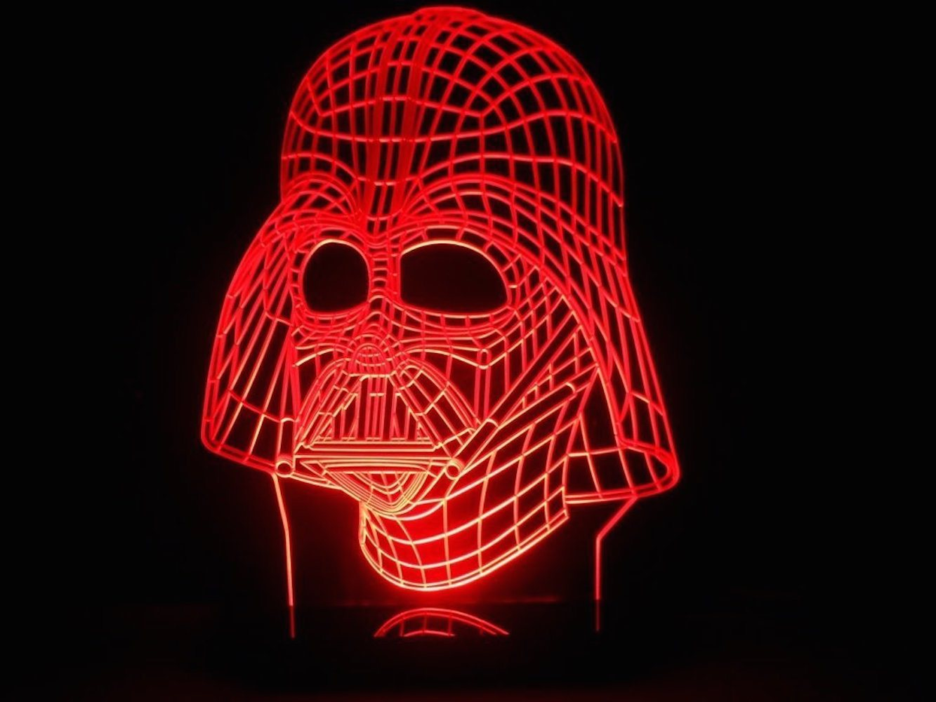 Darth Vader LED Light Table Lamp » Gadget Flow