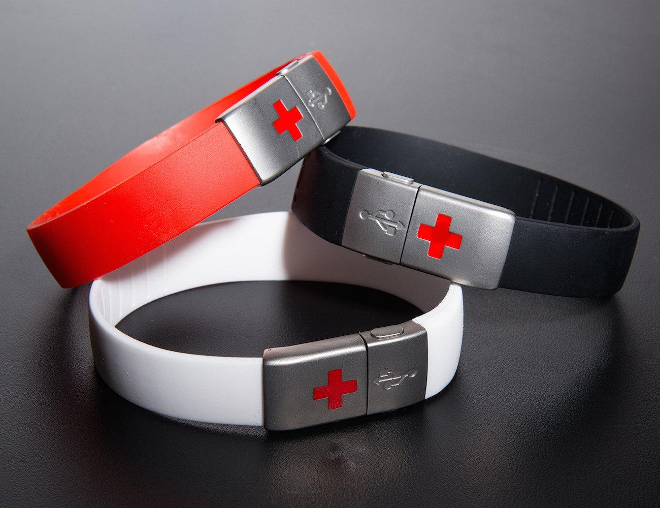 EPIC-id USB Emergency ID Wristband