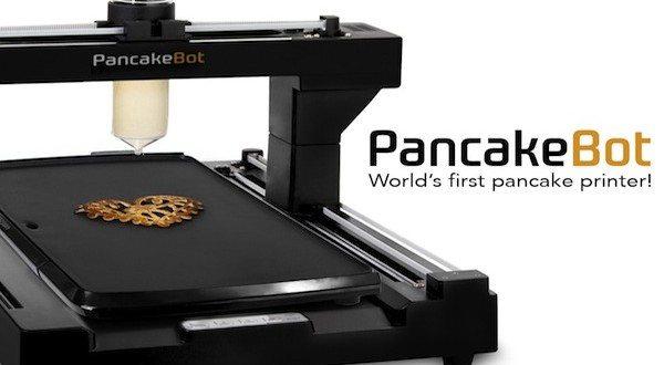 PancakeBot: Print Fun Pancakes Every Morning