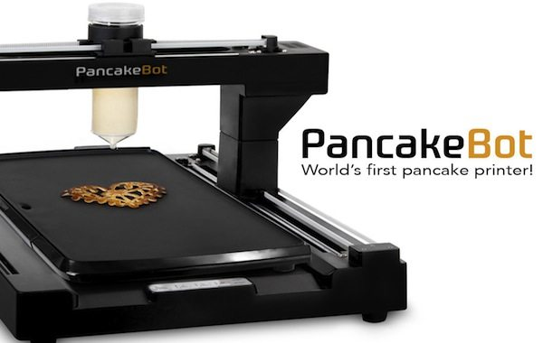 PancakeBot: Print Fun Pancakes Every Morning