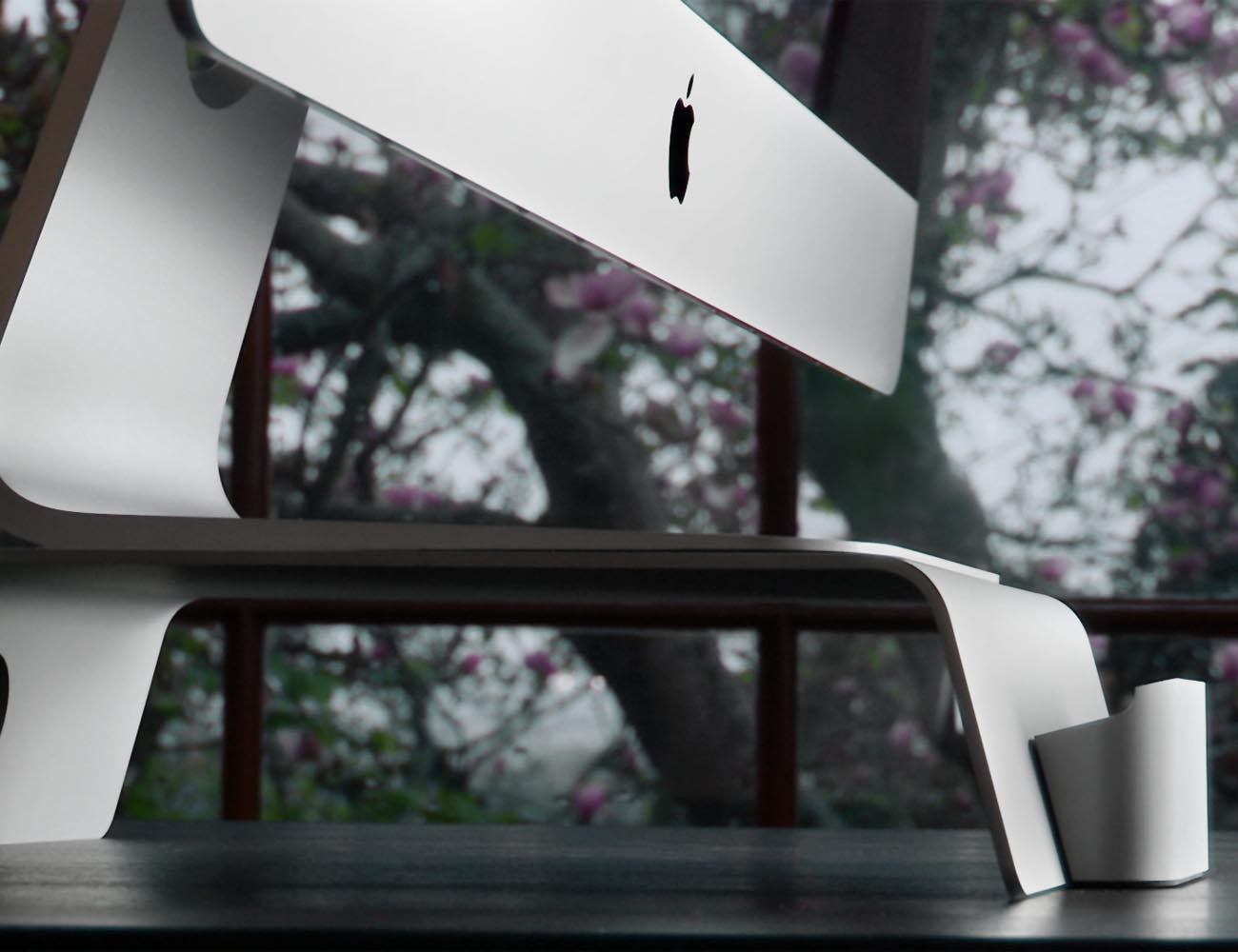 FUSION Stand: A Superb Elevating & Docking Stand for iMacs & Apple Displays