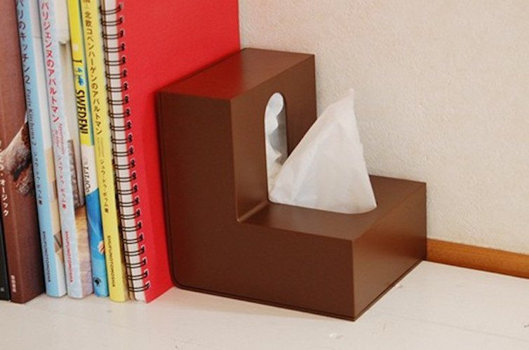 Folio L-Shaped Tissue Box