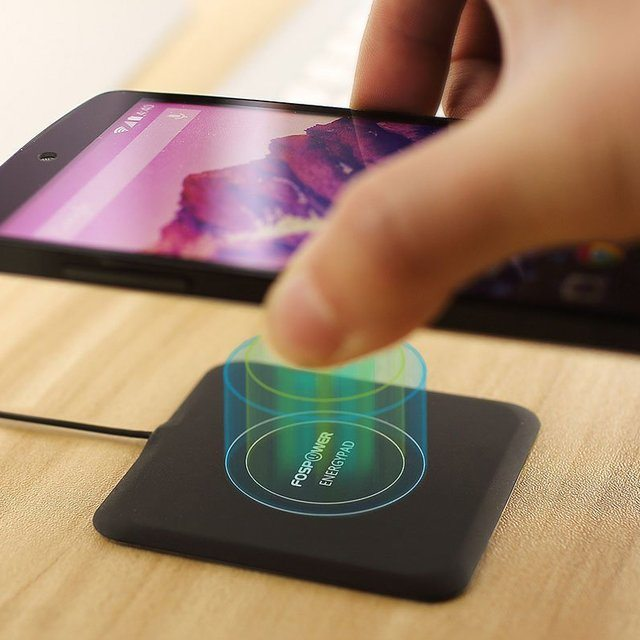 EnergyPad – 1.5A Output Qi Enabled Wireless Charger by FosPower