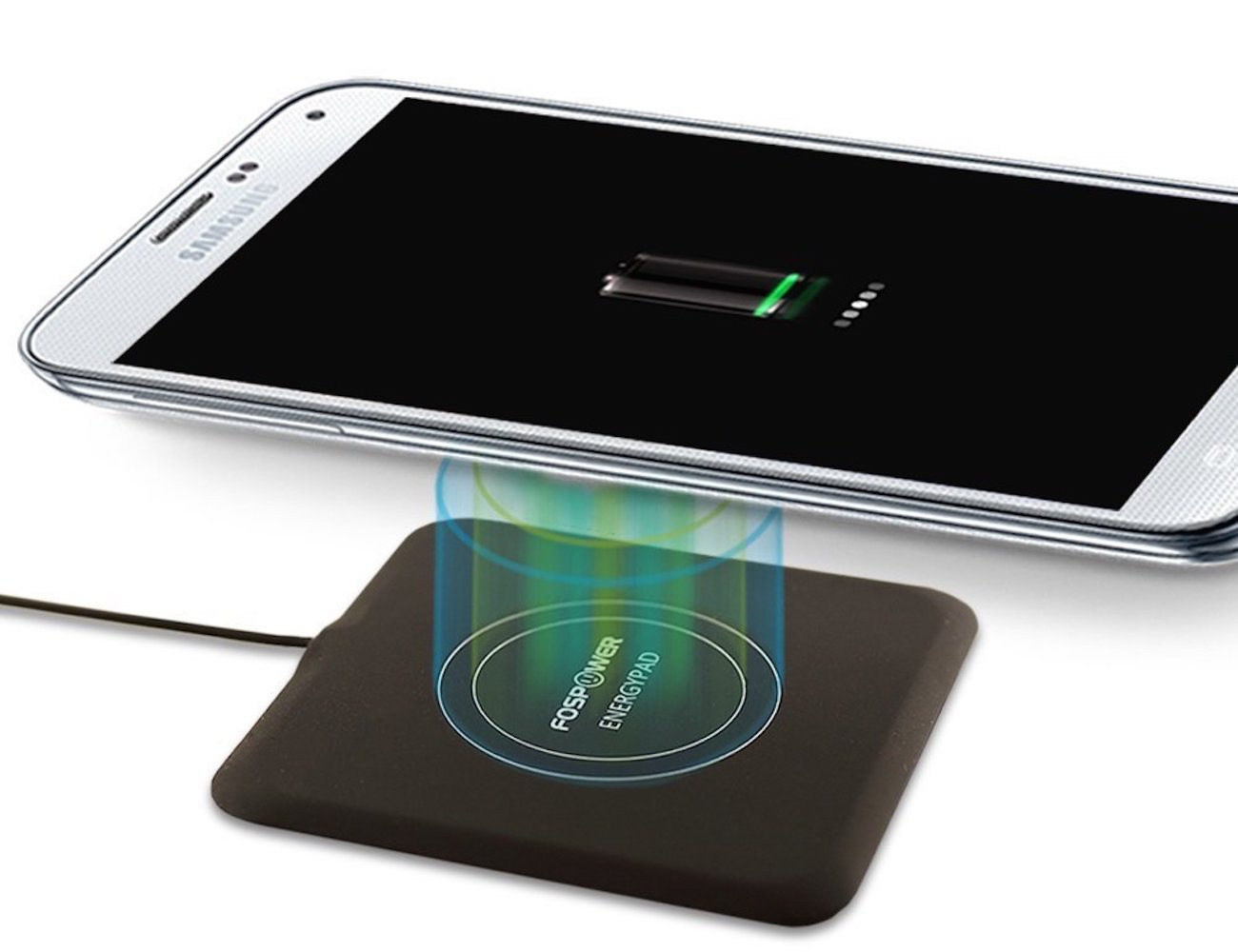 energypad 1 5a output qi enabled wireless charger by fospower gadget flow. Black Bedroom Furniture Sets. Home Design Ideas