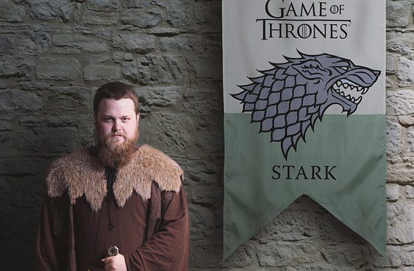 Imagine your home as your own castle! All you need now is one of these Game of Thrones Banners.