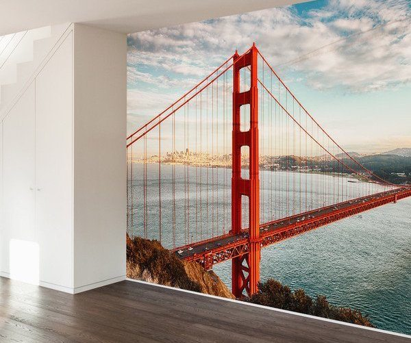 Golden Gate Bridge Wall Mural Decal