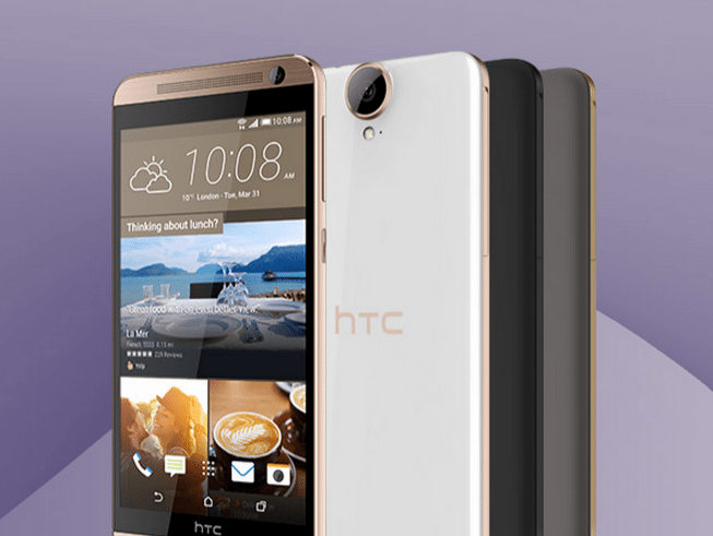 HTC E9 Plus phone
