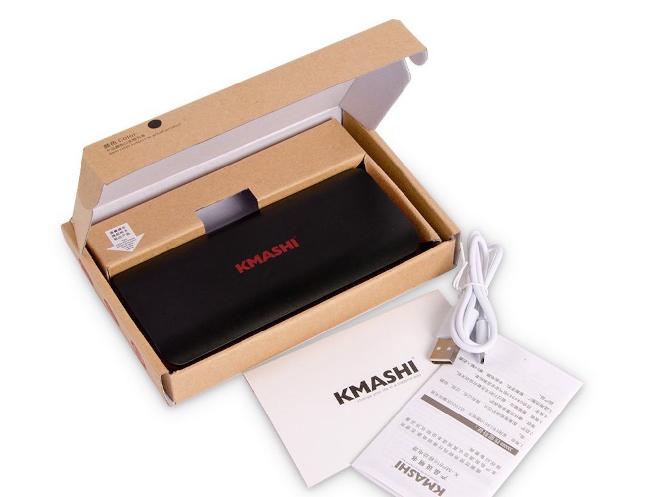 KMASHI Dual USB Portable Battery