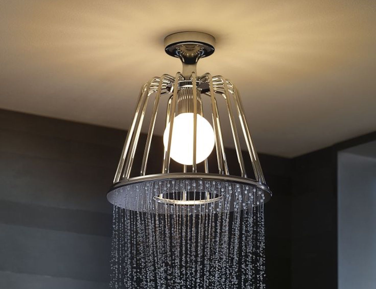 Lampshower – A Sophisticated Shower Head