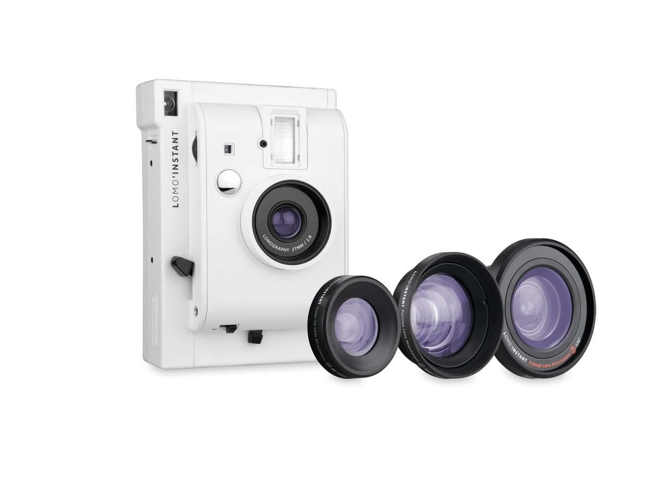 Lomo'Instant + 3 lenses