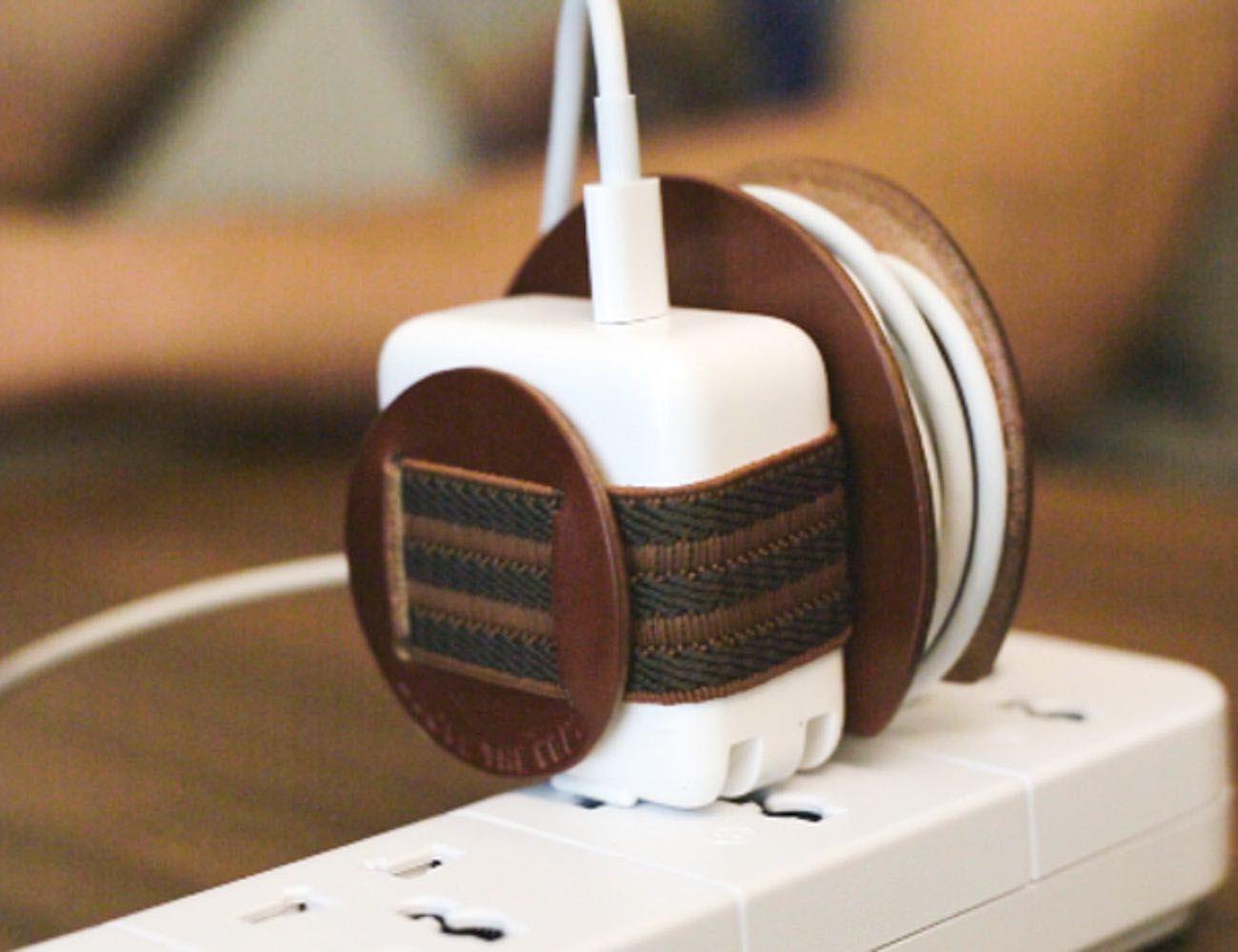 Macbook Adapter Cord Organizer