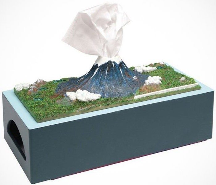 Mount Fuji Tissue Box Holder