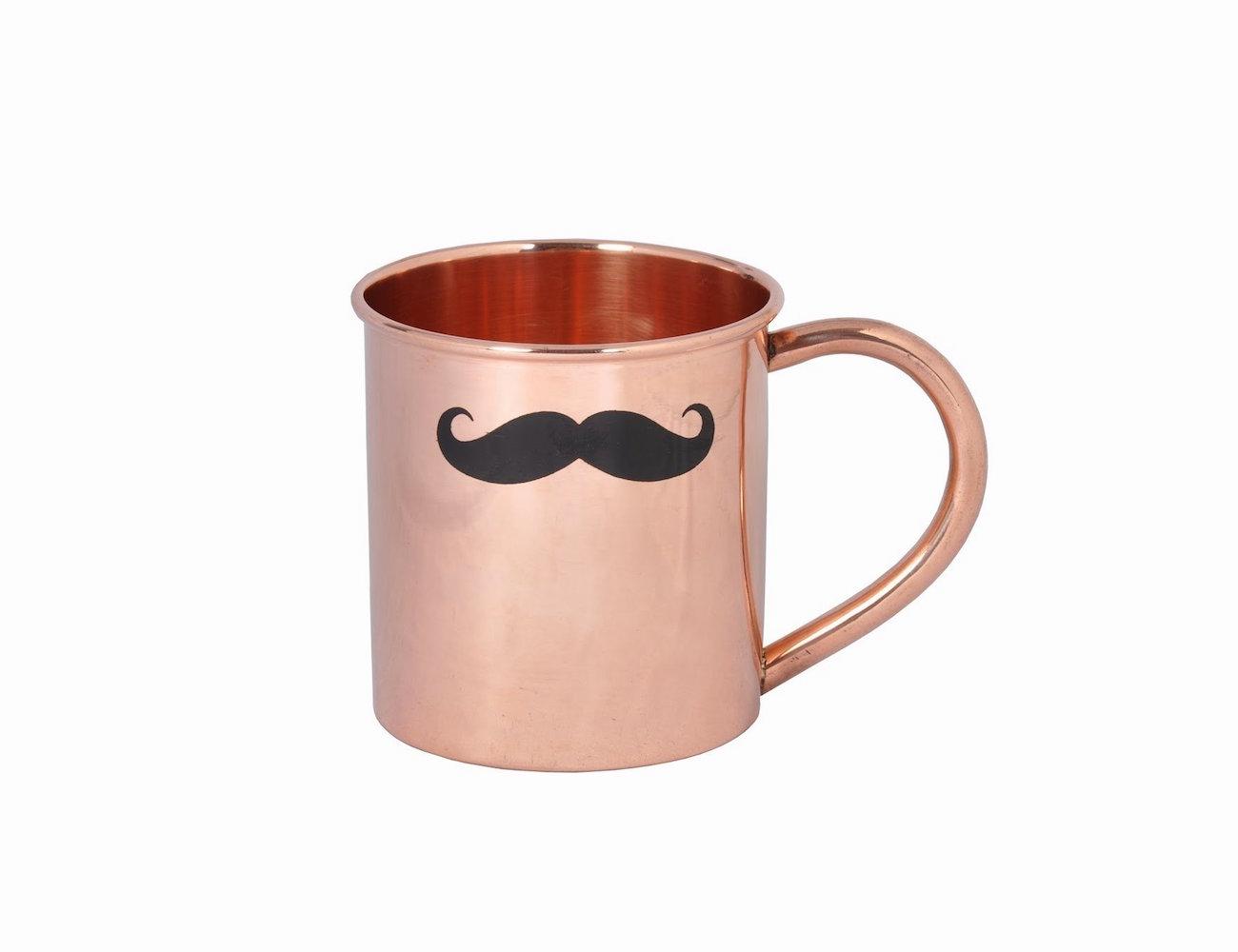 Mustache Mule Mug