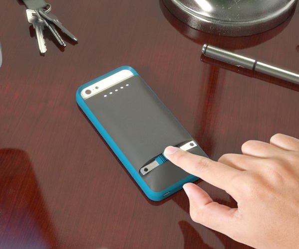 Prong iPhone Case: Never Use Another Cord Again