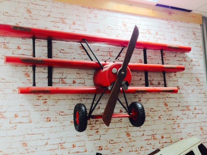 Red Baron Airplane Wall Shelving Review 187 The Gadget Flow