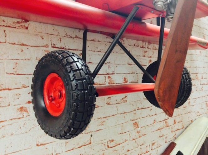 Red Baron Airplane Wall Shelving