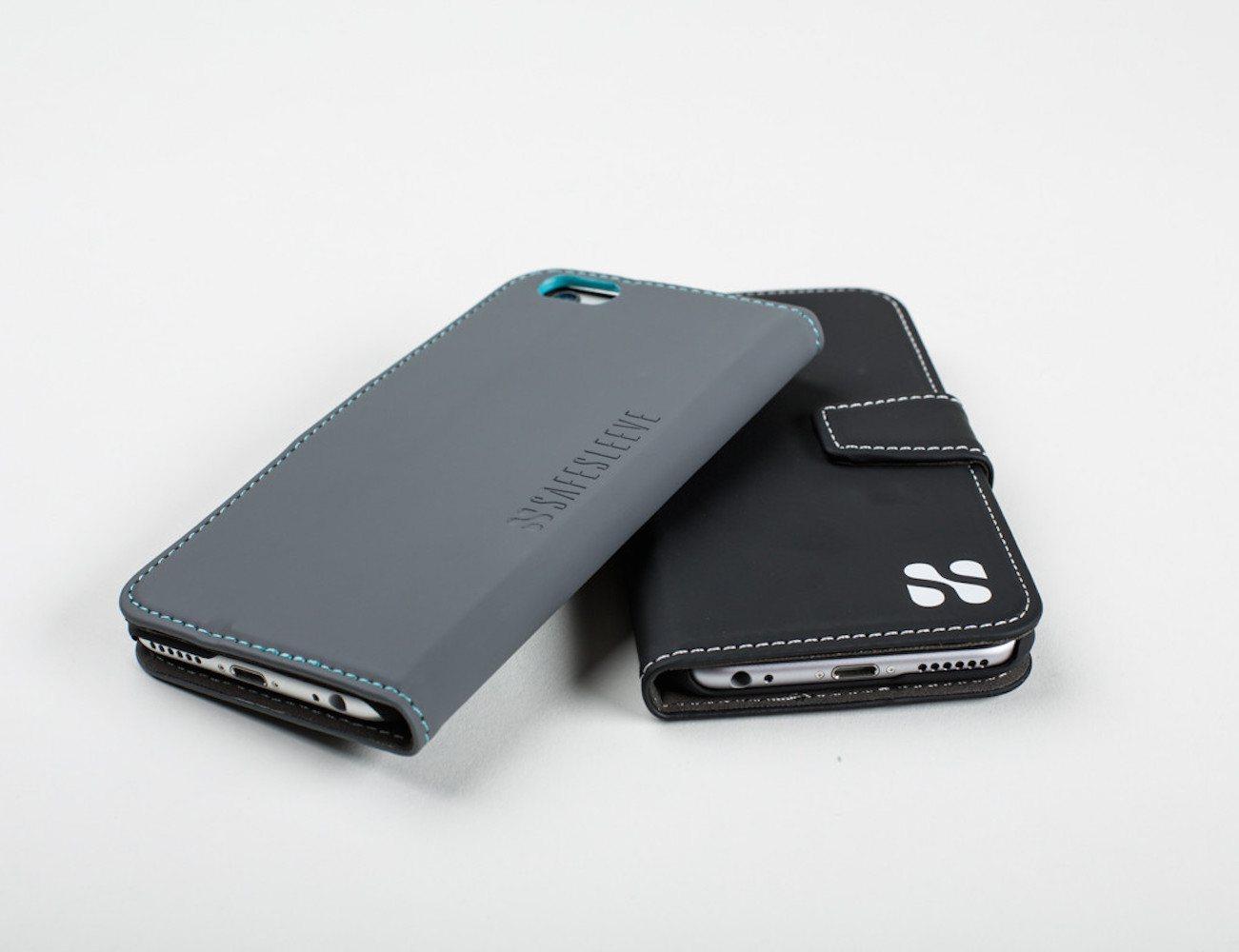 SafeSleeve iPhone 6 & Plus Case – Anti-Radiation and RFID Blocking Wallet