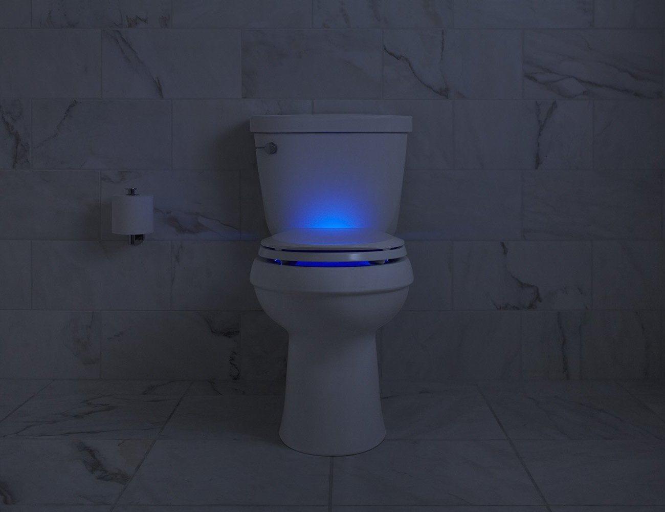 Sound Activated Nightlight Toilet Seat