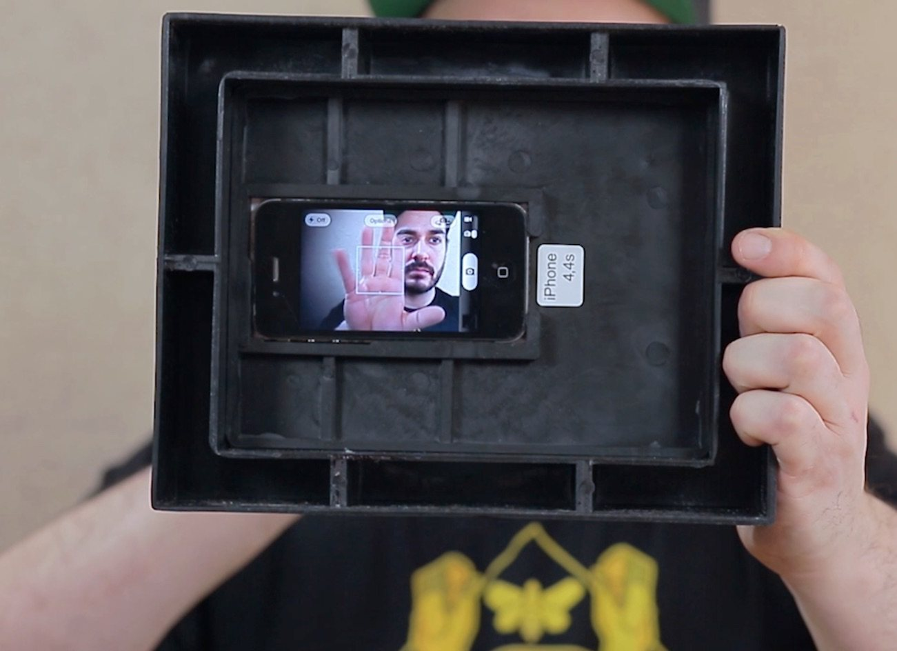 Spyframe: Turn Your iPhone Into A Wireless Hidden Camera