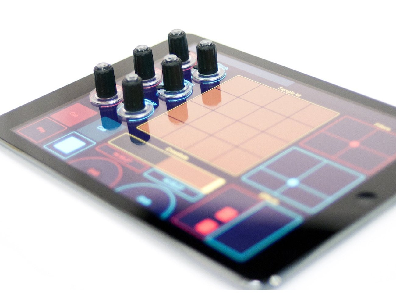 Tuna Tablet DJ Knobs