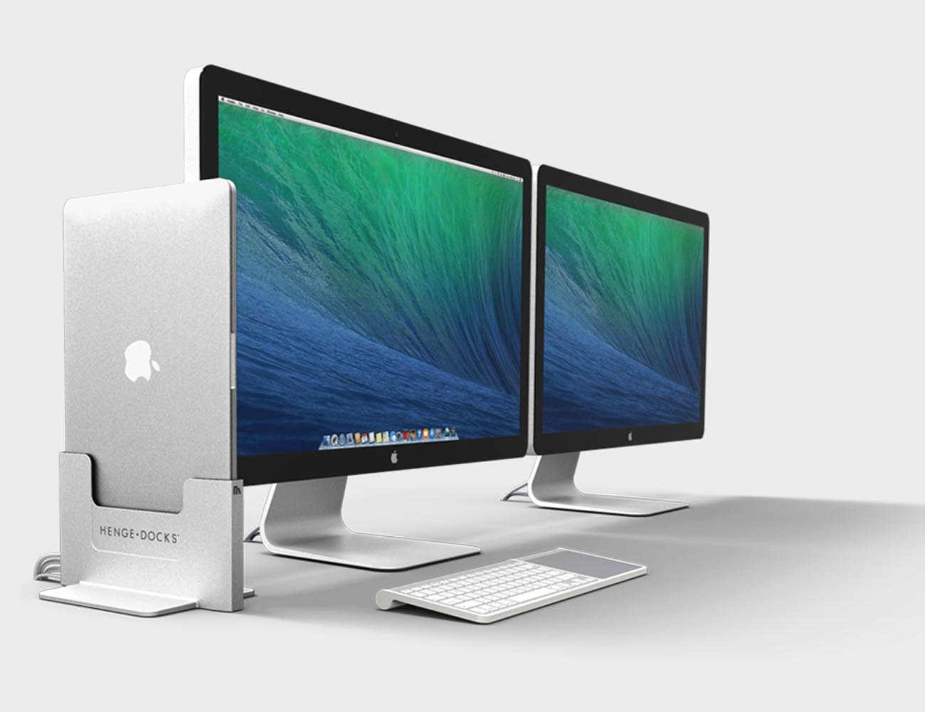 Vertical Dock for Macbook Pro Retina By Henge Docks
