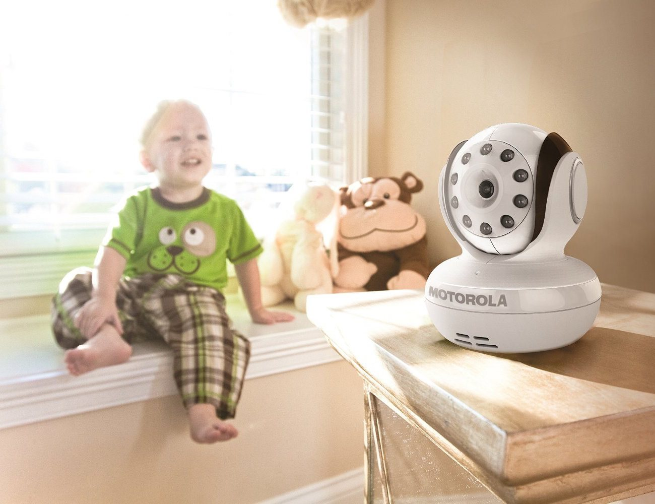 Wireless Digital Infrared Video Baby Monitor