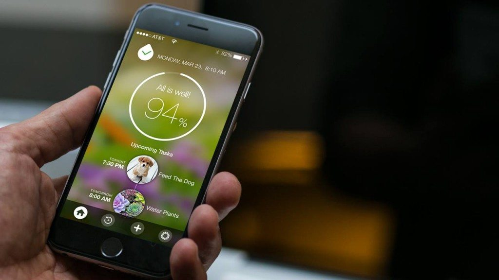 App with tasks