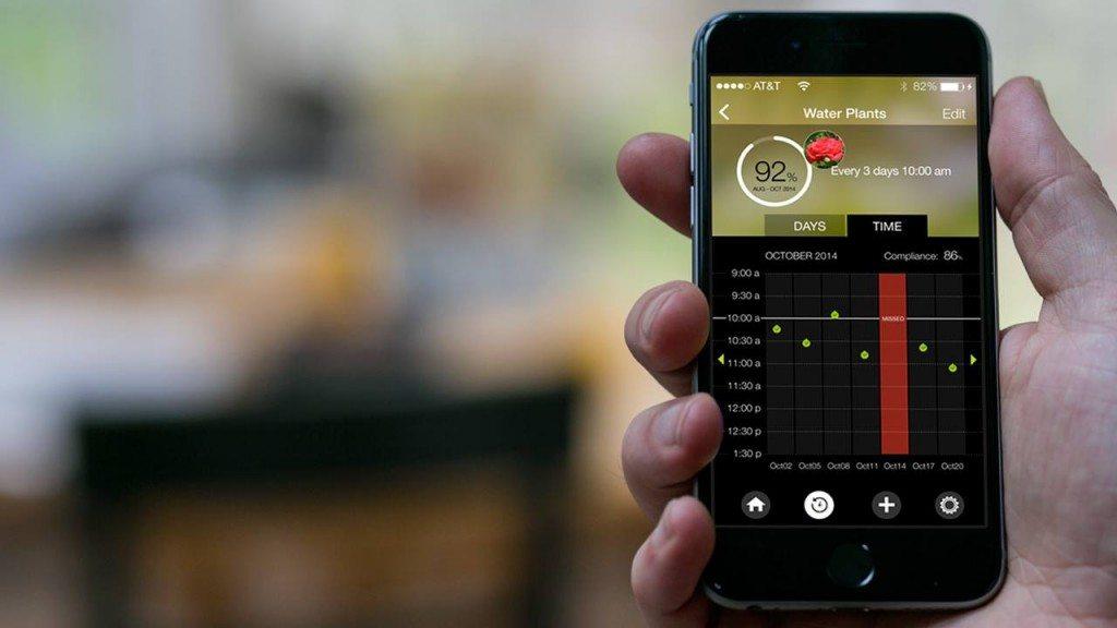 App with progress