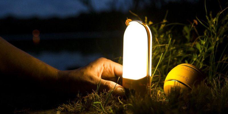 BioLite NanoGrid lighting plus charging system