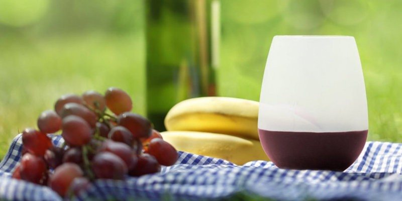 Silicone Wine Glasses by CUSAN