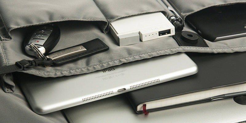 Hismart bag compartments