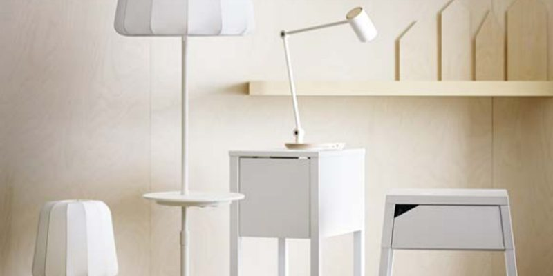 IKEA late spring wireless charging collection