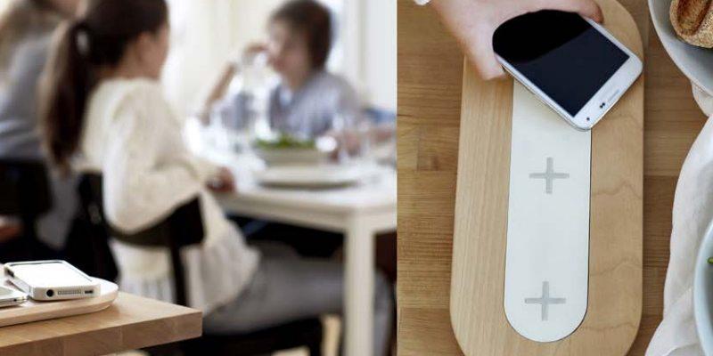 NORDMÄRKE triple charging pad from IKEA