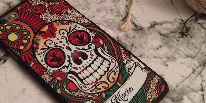 Moxie iPhone Cover Skull Head