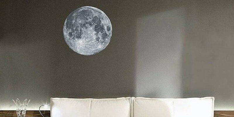 Full Moon Wall Sticker
