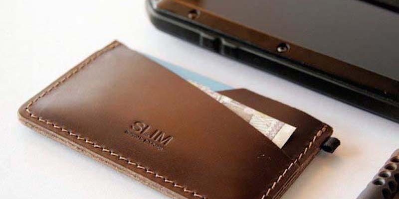 SLIM – Premium Leather Cardholder