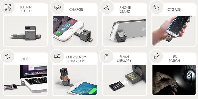 wondercube 8 mobile accessories