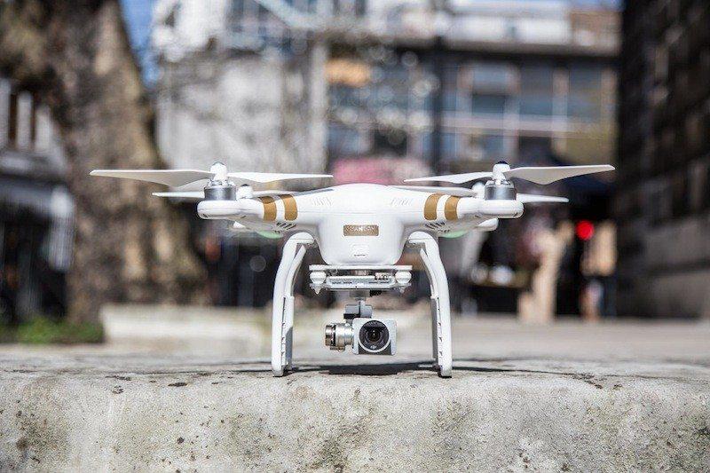 Drone DJI Phantom 3 outdoor shot