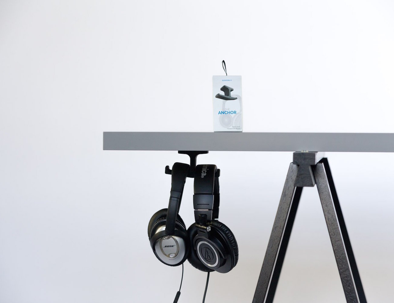 Anchor – The Under Desk Headphone Mount
