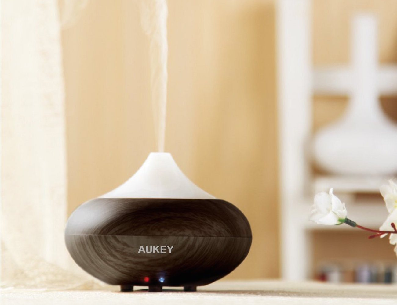 #AF1C25 Aukey Electric Aromatherapy Essential Oil Diffuser Best 3783 Home Diffusers For Essential Oils photos with 1300x1000 px on helpvideos.info - Air Conditioners, Air Coolers and more
