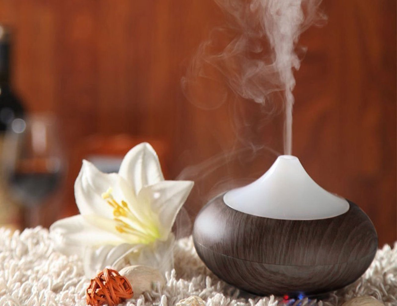 Electric Diffuser Aromatherapy ~ Aukey electric aromatherapy essential oil diffuser