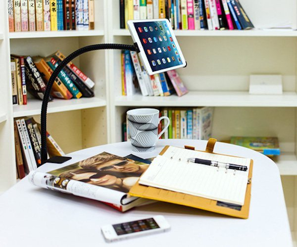 Aukey Stand 3D Clamp Mount Holder For iPad mini