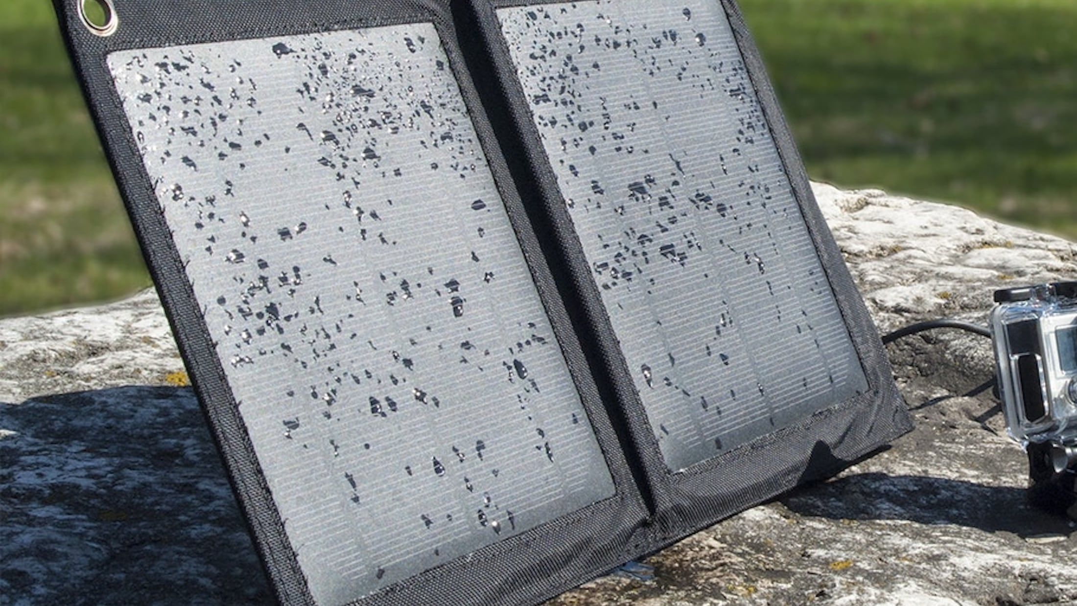 Badger Waterproof USB Solar Charger keeps your off the grid adventures totally powered up