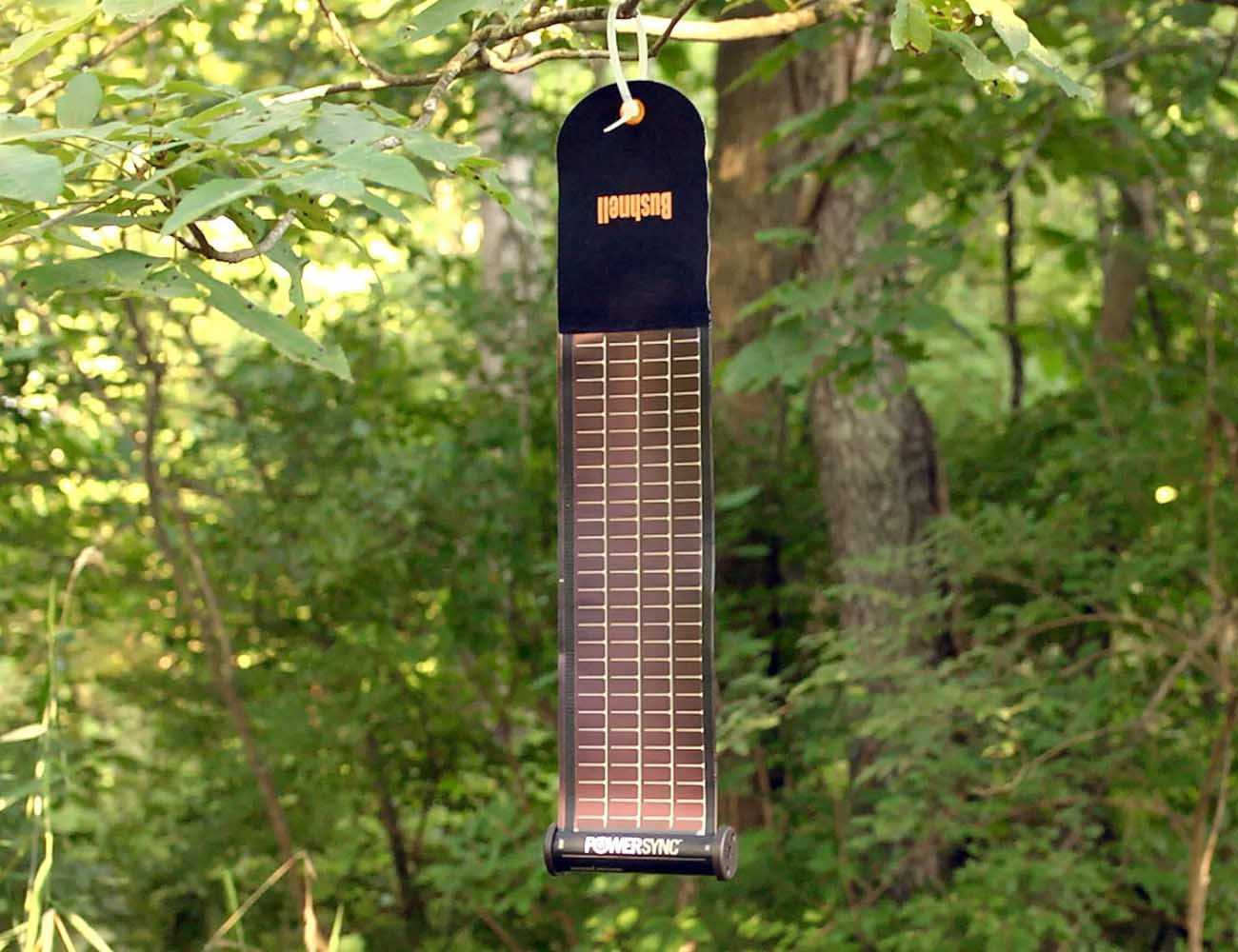 Bushnell Solarwrap Solar Power Charger 187 Gadget Flow
