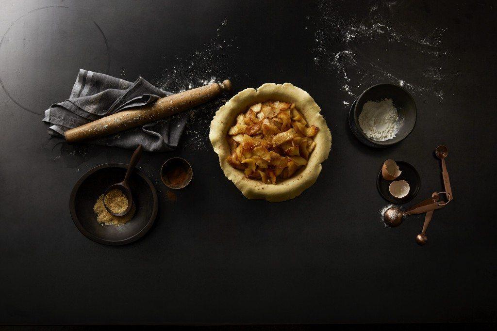 Cinder apple pie