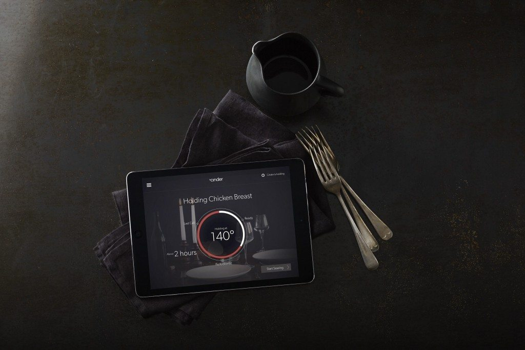 Cinder app and cooking
