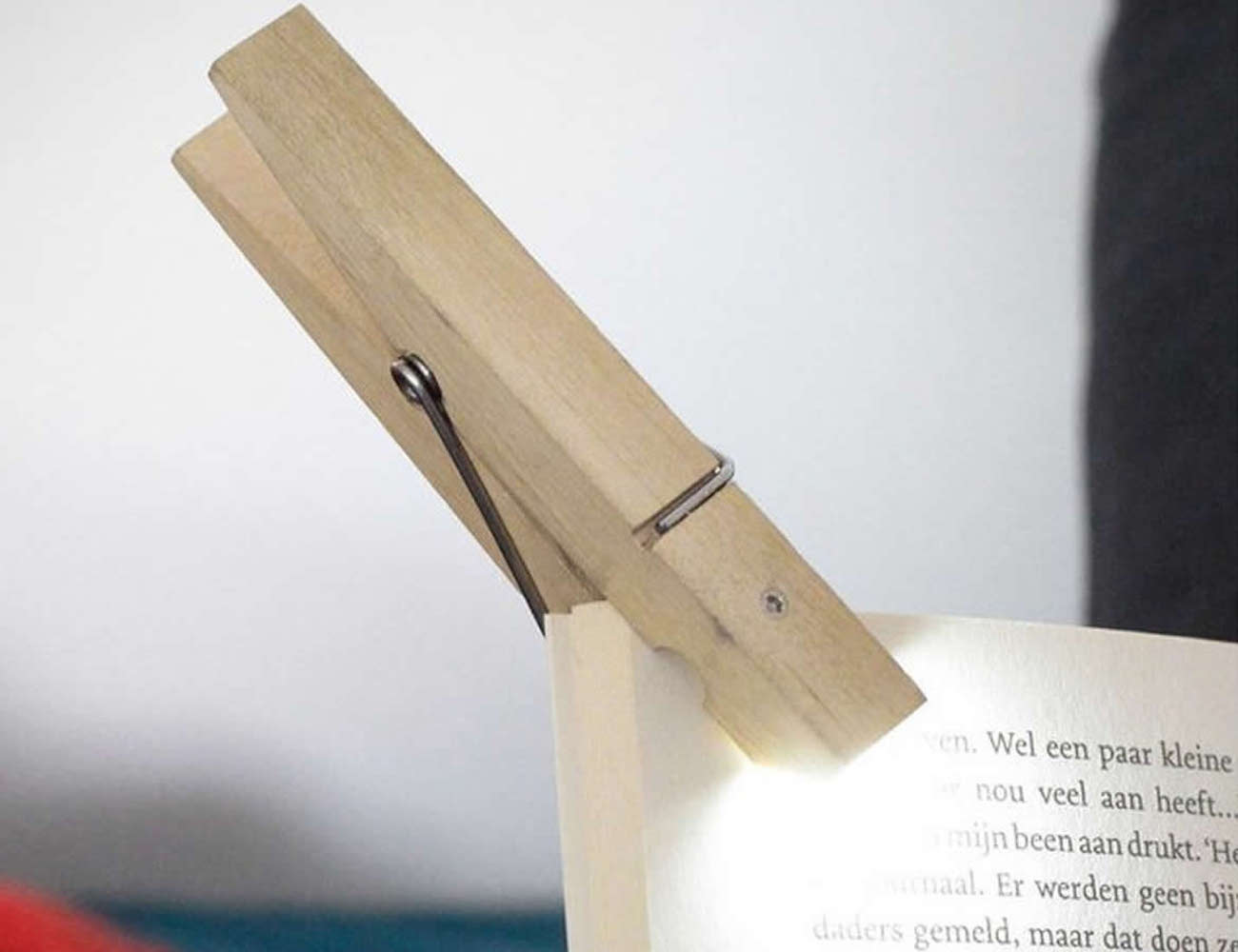 Clothespin Clip Light