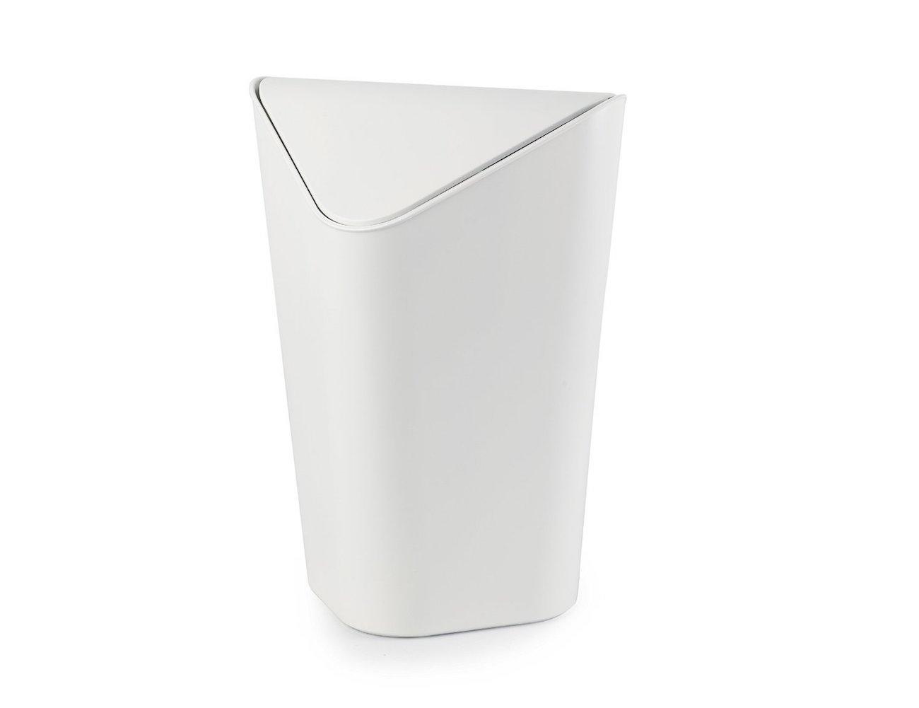 Corner waste bin perfect waste bin for corners review the gadget flow - Corner wastebasket ...